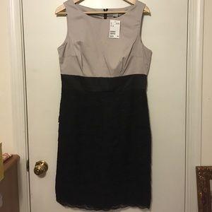 H&M DRESS. WORK. OFFICE. LACE SKIRT. Size 12 BNWT